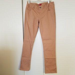 Dickies Straight Leg Low Waist Peach Colored Pants